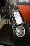 Silverware dispenser with extra stainless silverware bins