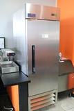 Artic Air AF23 stainless 1 door freezer - very nice unit