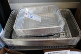 All to go - Aluminum roasting pans with lids