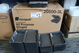 Times 2 - Cases of Genpack foam hinged to go containers