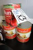 Times 3 - 2) Pasta Sauce & 1) Tomato sauce