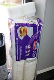 Times 2 - Sleeves white foam hinged sandwich to go containers