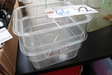 Times 2 - 2 quart food storage containers - no lids