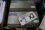 Times 2 - Boxes of X-Large black nitrile gloves