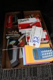 Box flat to go - Office related, markers, calculators & more