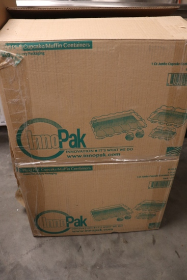 All to go - full case plus partial case of InnoPak Rigid 5.25 x 4 1 count J