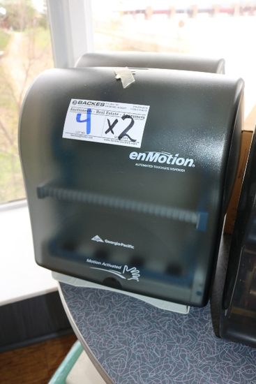 Times 2 - Enmotion hand towel dispenser