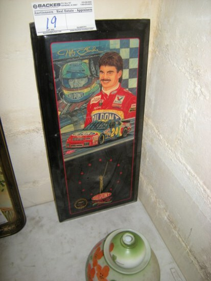 Jeff Gordon Clock