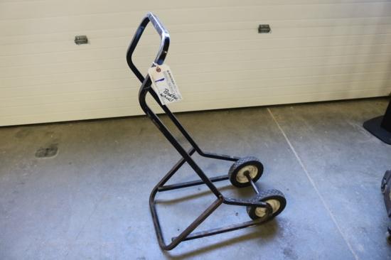Chair cart w/ broken wheels