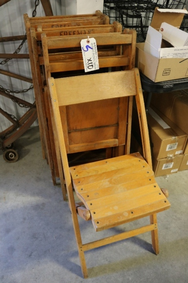 Times 10 - Wood folding chairs