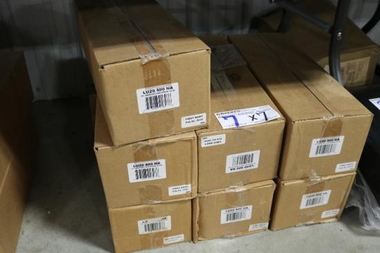 """Times 7 - Cases 20"""" Neon straws, 500 count per box"""