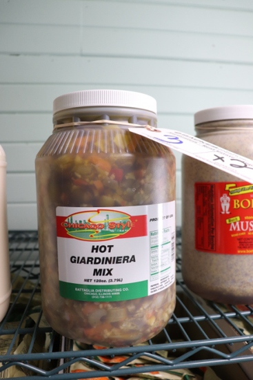Times 2 - Chicago Style Hot Giardiniera mix