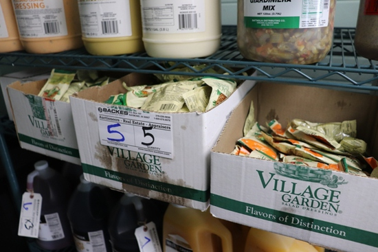 All to go - 5 boxes - Village Garden packet dressing - several flavors