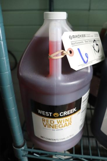 Times 3- West Creek red wine vinegar