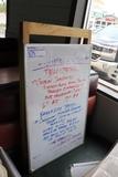 Melamine marking board