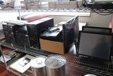 Shelf to go - POS register system - as is - Lenova cpu - monitors - slip pr