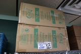 Times 2 - cases of Eco Choice 12 oz paper hot/food cups - no lids
