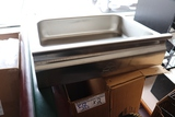Times 2 - new Advance Tabco stainless table drawers - no rails - drawers on