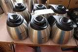 Times 6 - Bunn 1.9 liter stainless thermo pots