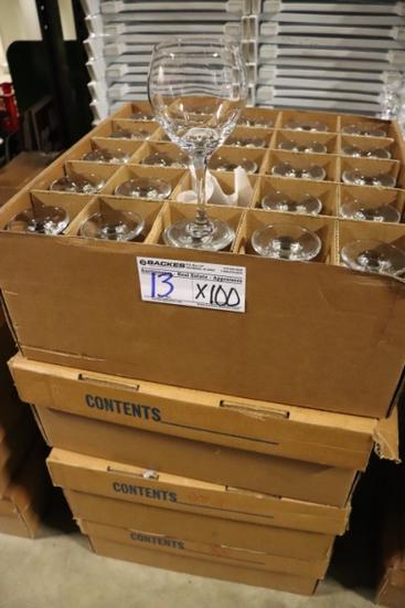 Times 100 - Bubble wine glasses
