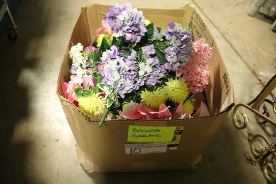 All to go - floral décor