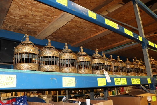 """Times 11 - 12"""" tall decorative bird cages"""