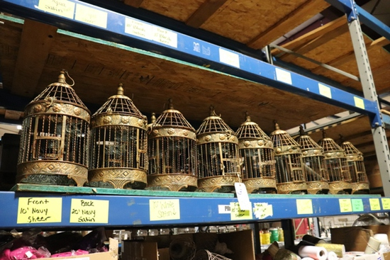 """Times 12 - 20"""" tall decorative bird cages"""