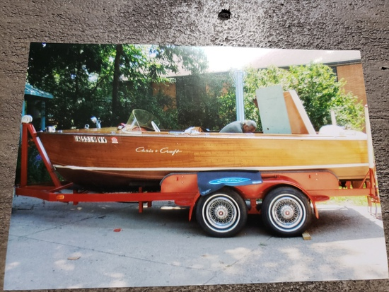 Estate Auction with Cris Craft Boat and more