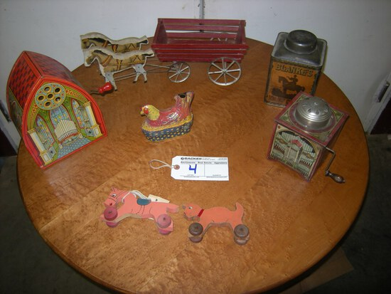 All to go  Vintage Toys