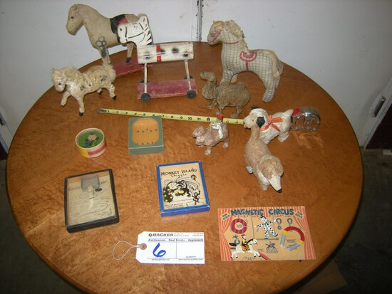 All to go   Toys    Horses,