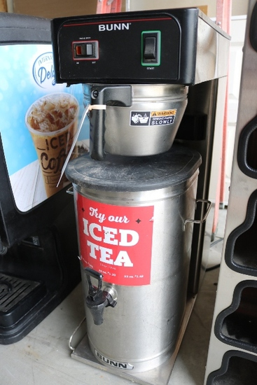 Bunn TB3Q Ice Tea Brewer w/ dispenser