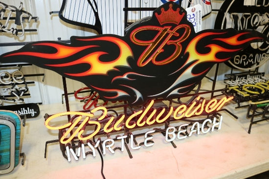 Excellent Beer Signage, Toys and More Auction