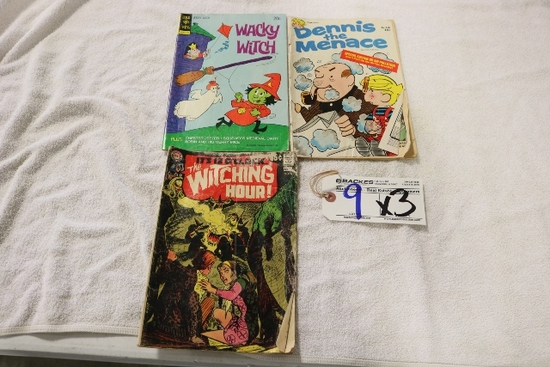 3- Wacky Witch -Gold Key $.20 90265-404, Dennis the menace, The Witchy hour