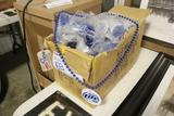 Box of Miller High Life Marti Gras beads