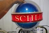 Schlitz lighted wall mount beer light