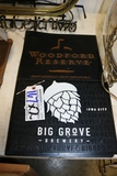 Times 2 - Big Grove Brewery and Woodford Reserve spill mats