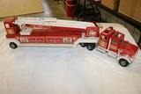 Tonka hook + ladder fire truck