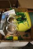 Box flat to go - John Deere videos, glasses, tractors, trucks, and sign