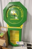 Homemade John Deere clock with toy case