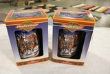 Times 2 - Budweiser 20th Anniversary holiday steins 1999