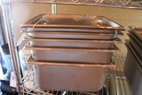 Times 6 - Stainless 1/2 x 6 inset pans