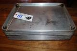 Times 10 - Aluminum 1/2 size sheet pans