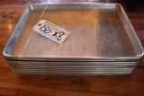 Times 8 - Aluminum 1/2 size sheet pans