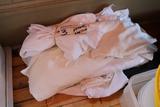 White napkins & aprons