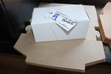 9x4x5 White pastry boxes