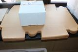 8x5x8 White pastry boxes