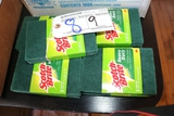 9 Packages scrub pads