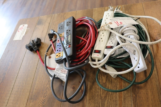All to go - extension cords and strip plugs