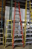 Keller 12' fiberglass ladder