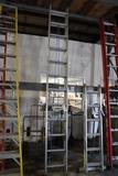 Warner 22' aluminum extension ladder